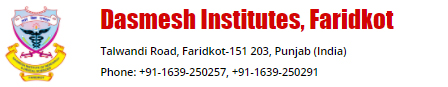 Dasmesh Institutes, Faridkot